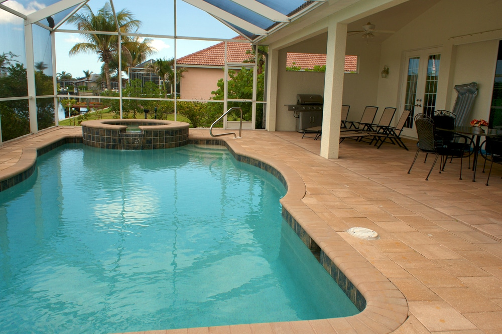 Swimming Pool Area Tiling - Newcastle Tiling