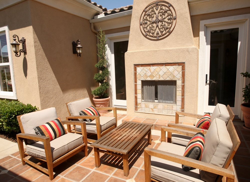 Patio Tiling - Newcastle Tiling
